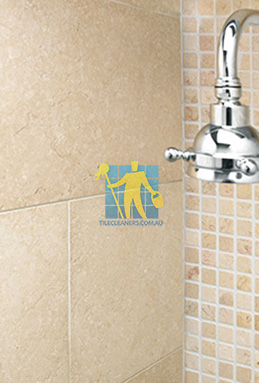 limestone tile shower thala cream melbourne cleaning