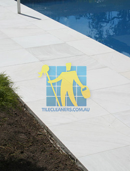 outdoor sandstone tile pool paving snow white melbourne