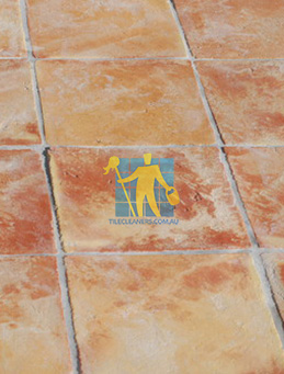 large terracotta tiles sample squares brand new mediterranean floor tiles grey grout rustic look old style